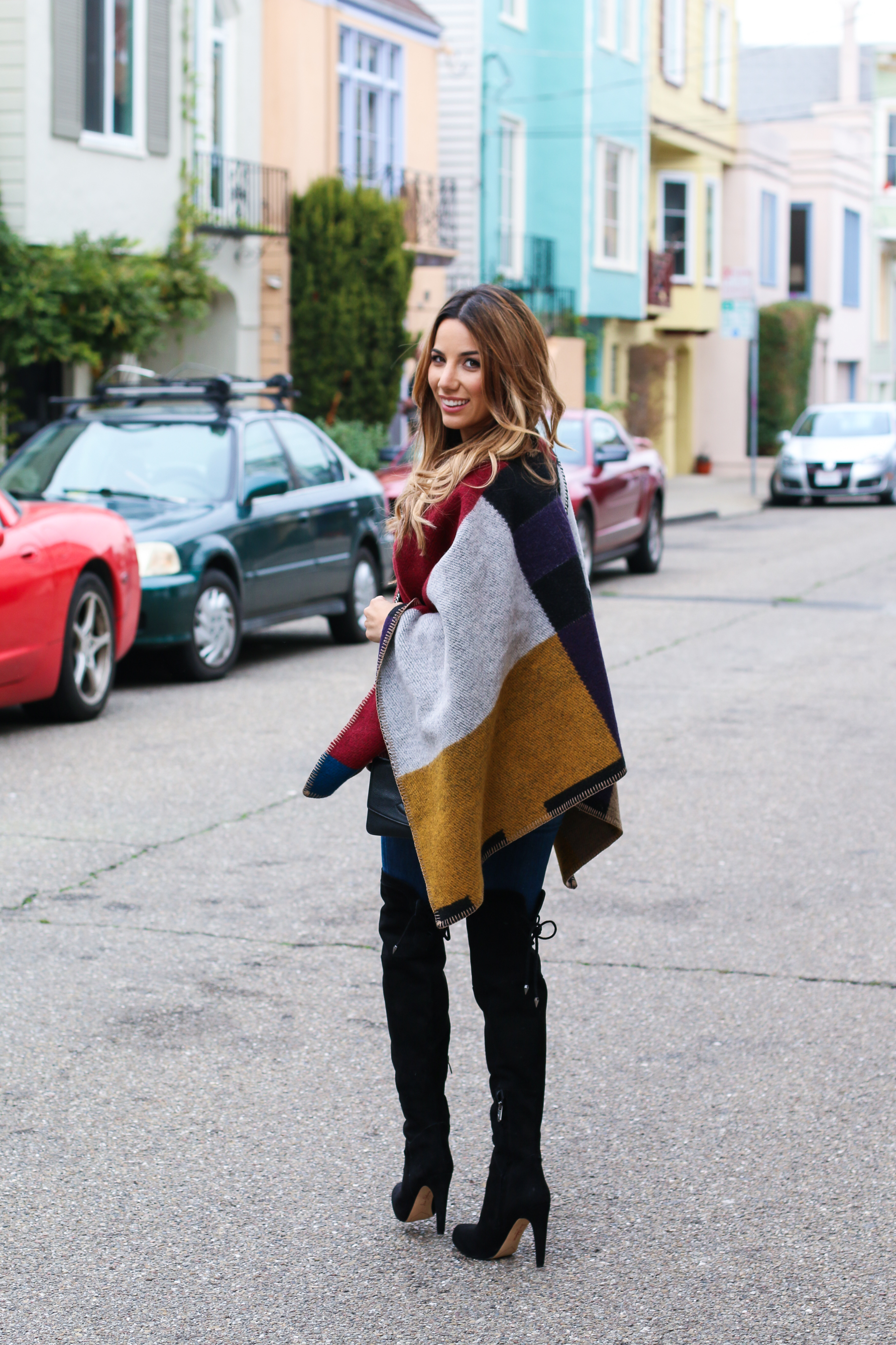 Ariana-Lauren-Fashion-Born-Blogger-Burberry-Poncho-Fall-Trends-Mission-District-San-Francisco-Photography-by-Ryan-Chua-7023