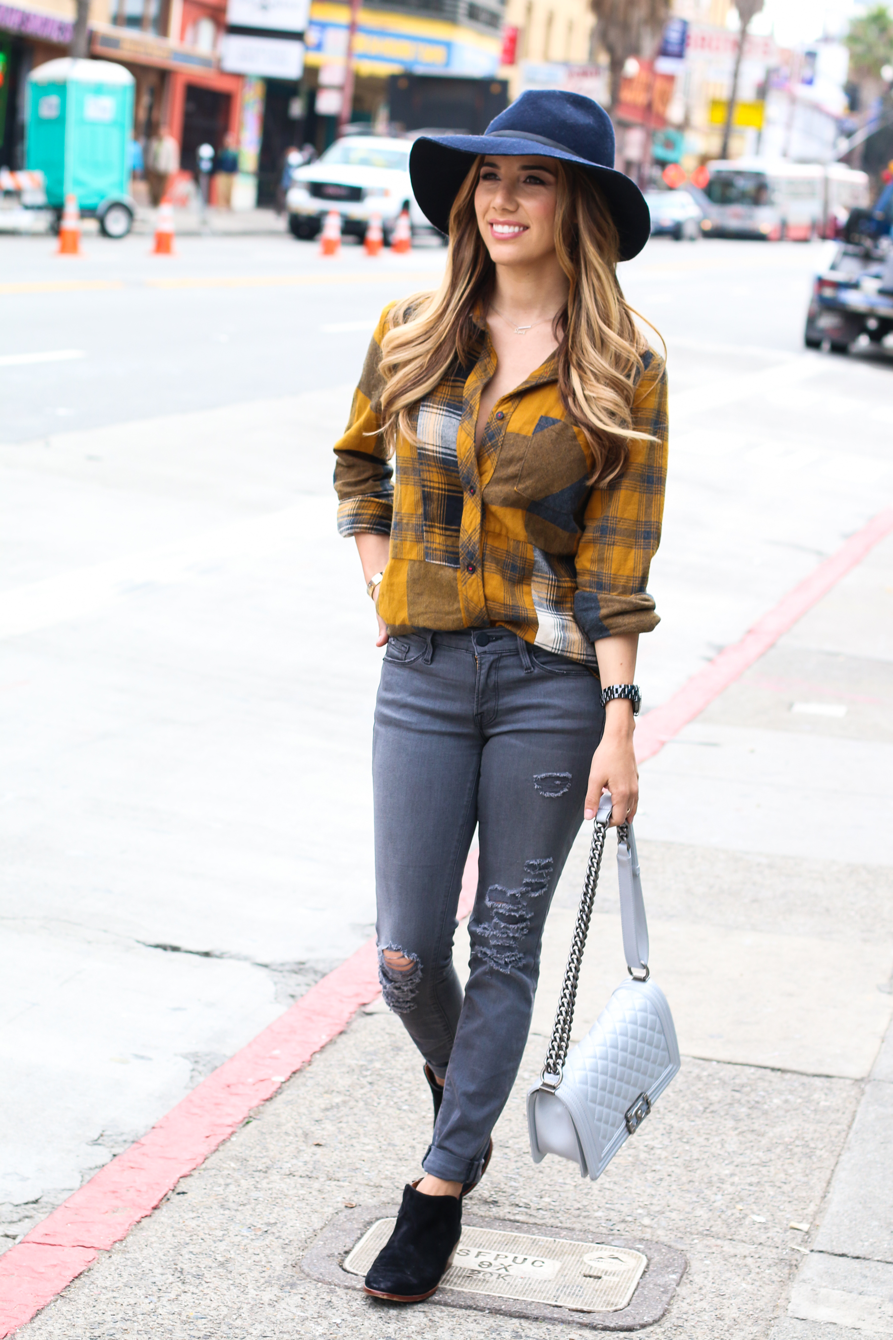 Ariana-Lauren-Fashion-Born-Blogger-Plaid-Shirt-Gray-Jean-Mission-District-San-Francisco-Photography-by-Ryan-Chua-6995