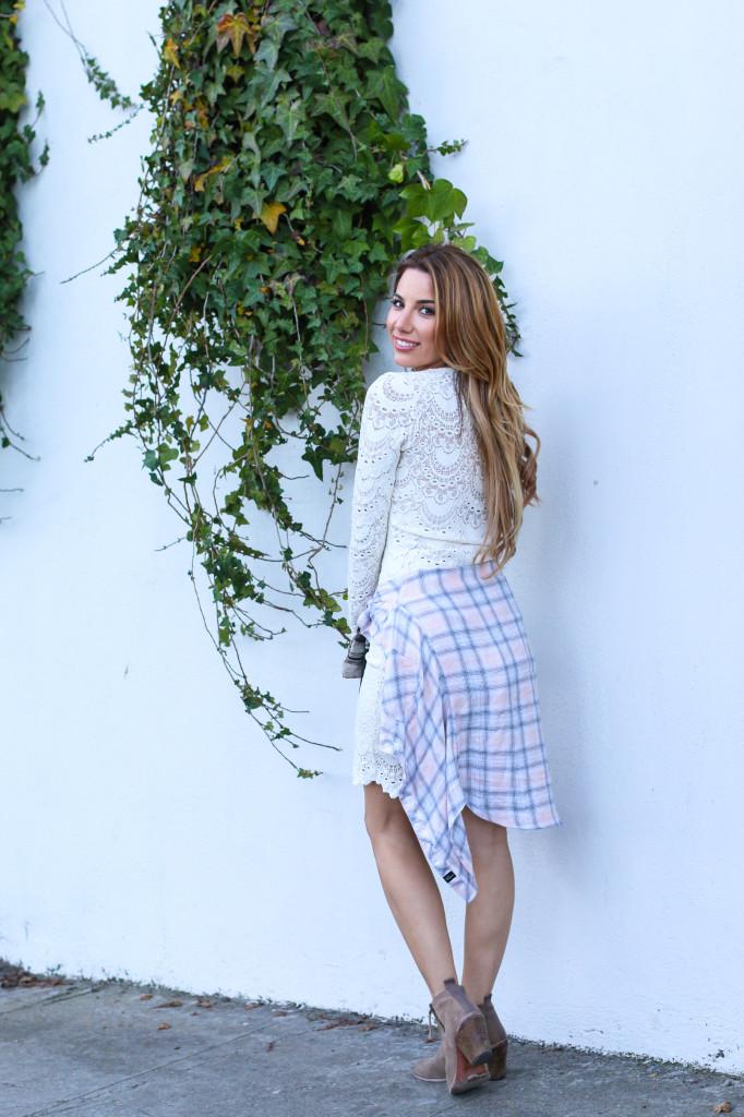 Ariana Lauren Fashion Born Blogger White Lace Dress Photography by Ryan Chua-3968