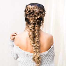 Romantic Braid Inspo