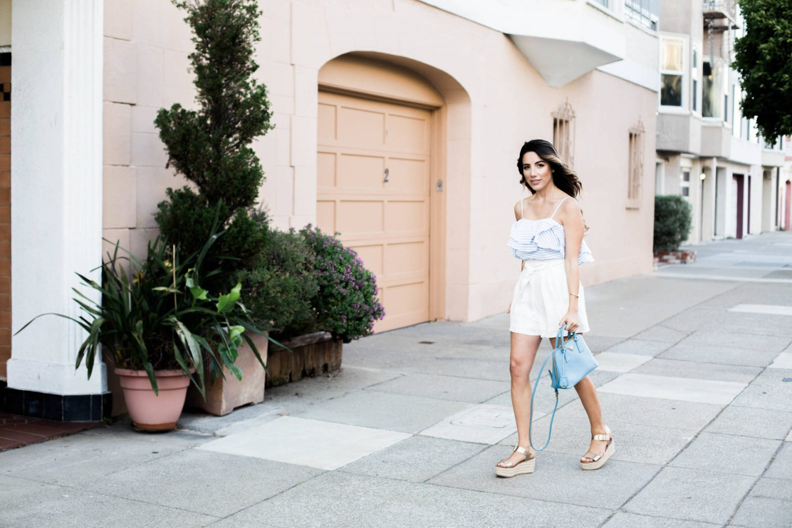 Ariana Lauren San Francisco Fashion Stripes