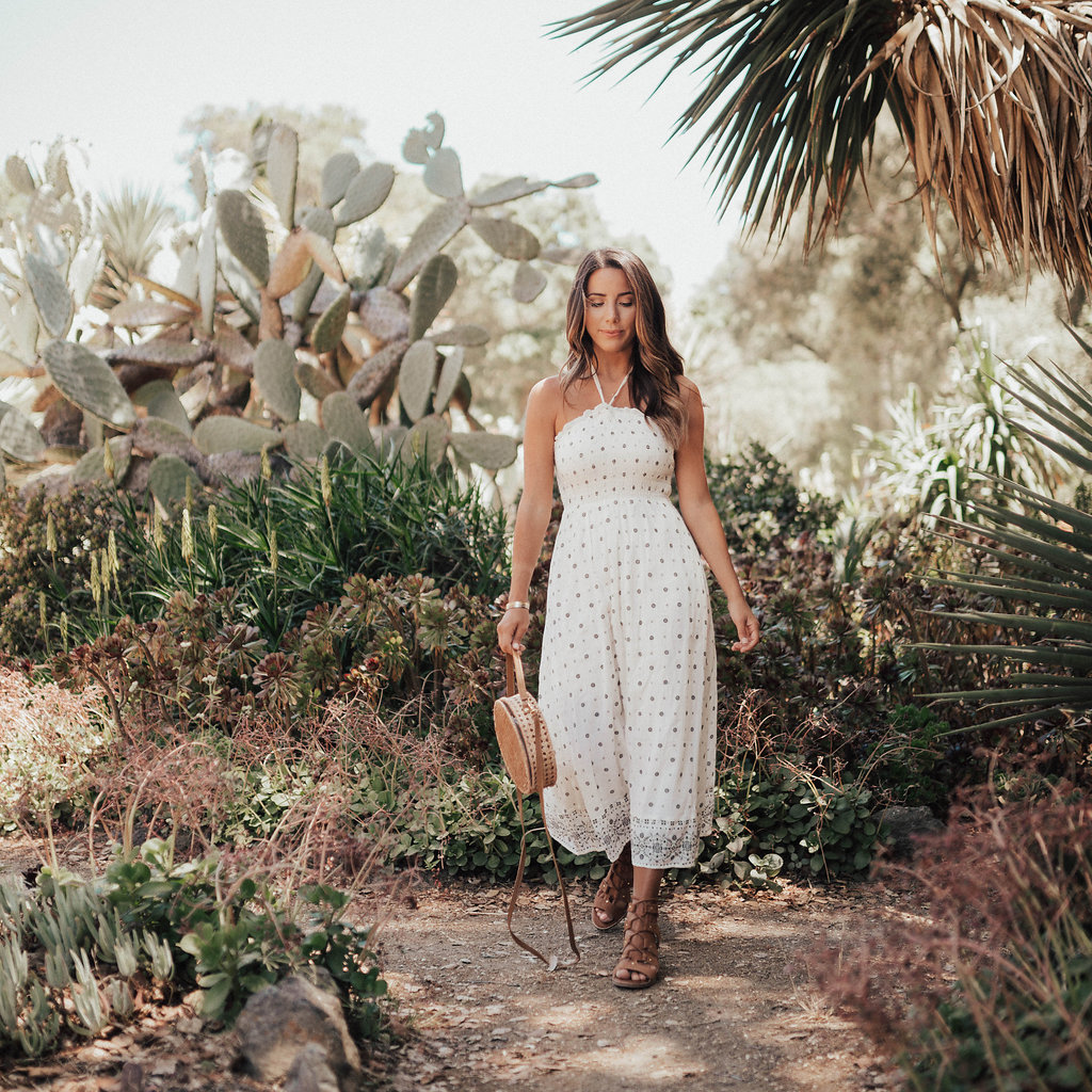 Old Navy Dress & Cactus Garden by San Francisco blogger Ariana Lauren