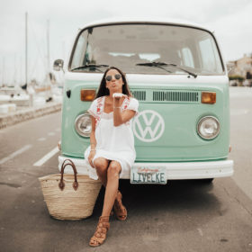 Casablanca Vibes with Old Navy White Summer Dress