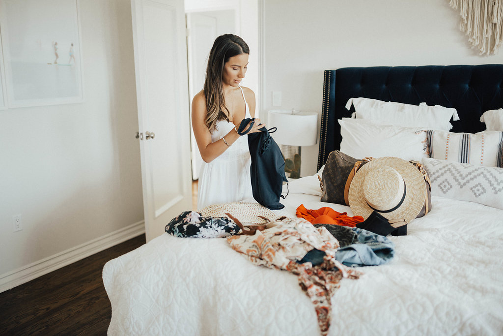 Summer Packing with Marks & Spencer Clothes by San Francisco blogger Ariana Lauren