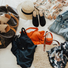 Summer Packing with Marks & Spencer Clothes!