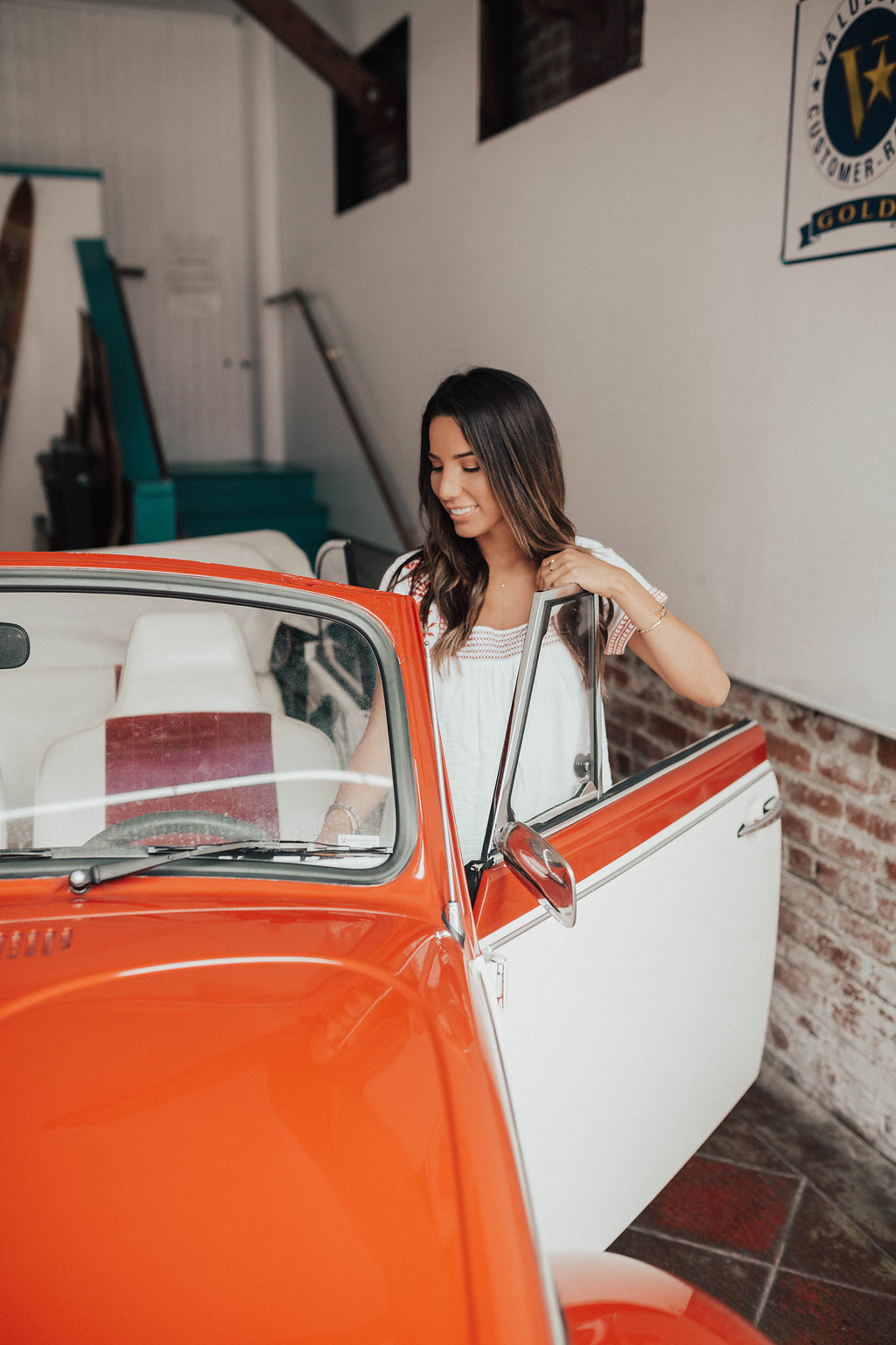 Casablanca Vibes with Old Navy White Summer Dress by San Francisco blogger Ariana Lauren